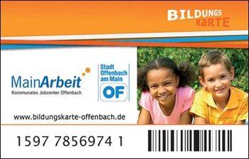 Bildungskarte Offenbach