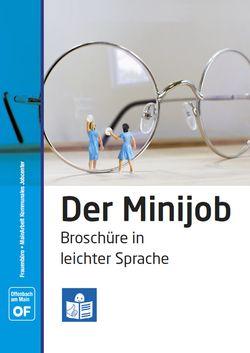 Der Minijob - Broschüre in leichter Sprache